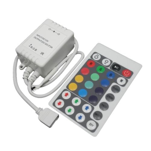 Контроллер RGB-IR 28key с ИК-пультом_1