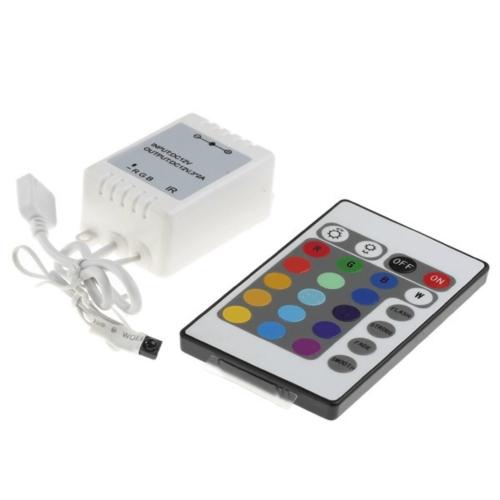 Контроллер RGB-IR 28key с ИК-пультом_2