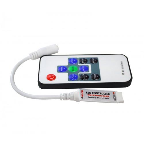 Контроллер мини RGB 10key с радио пультом_2