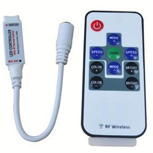 Контроллер мини RGB 10key с радио пультом_3
