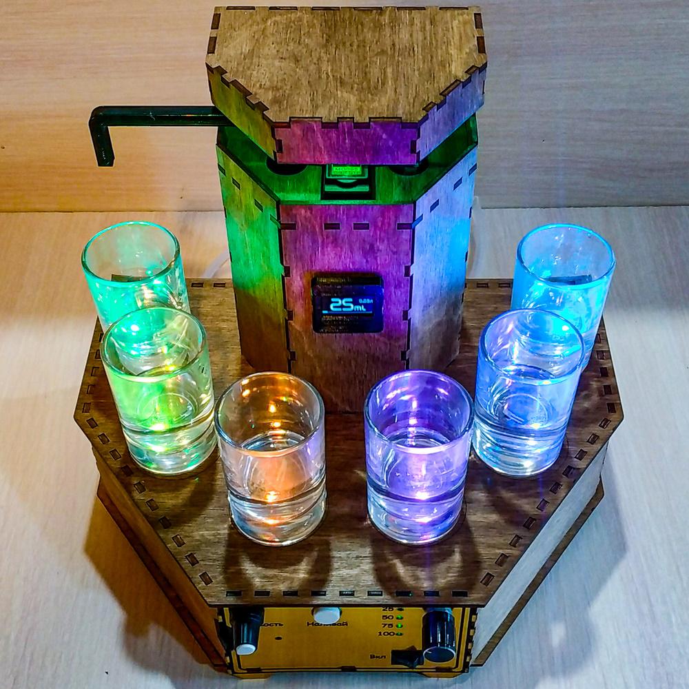 Наливатор в деревянном корпусе STANDART_3