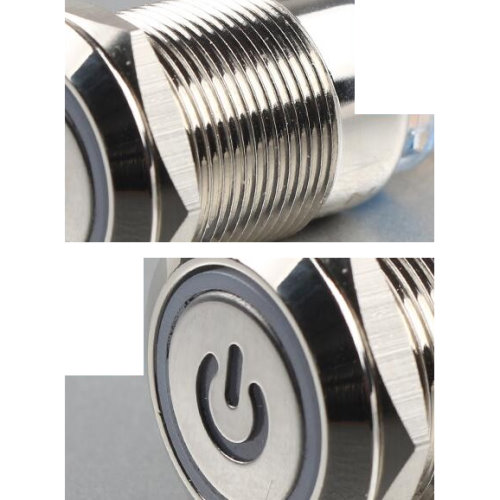 Кнопка 16мм (металл, с подсветкой, без фиксации)_2