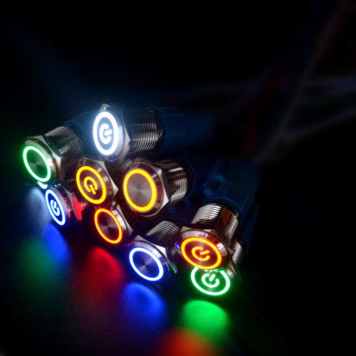 Кнопка 16мм (металл, с подсветкой, без фиксации)_3