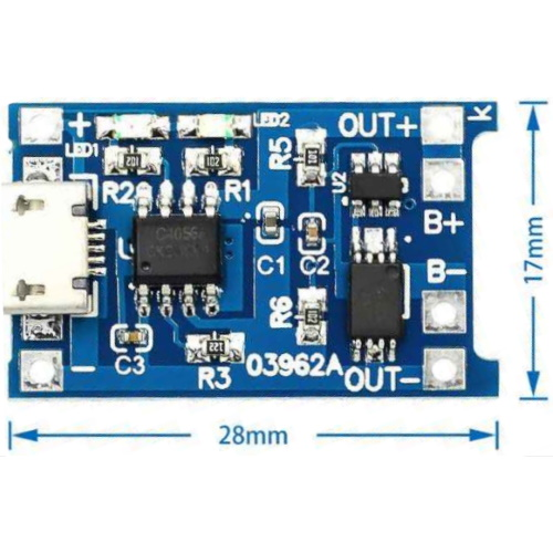 Модуль micro-USB TP4056_3