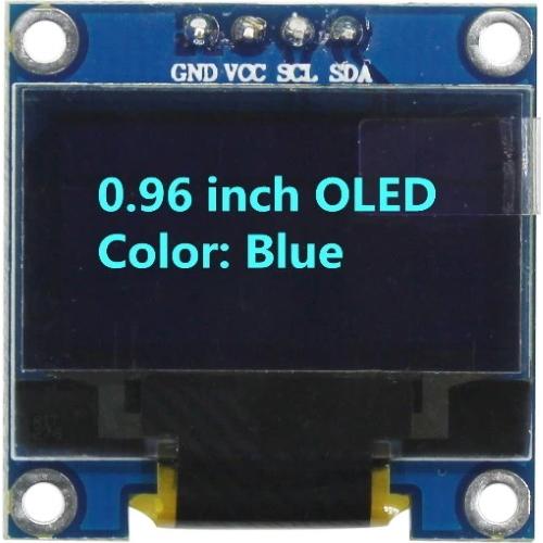 Дисплей OLED 128X64 iic