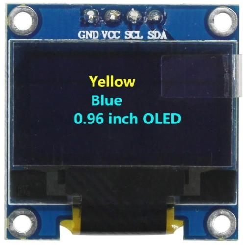 Дисплей OLED 128X64 iic_2