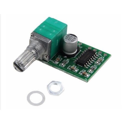 Усилитель звука 2х3Вт PAM8403 с регулеровкой