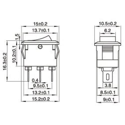 Кнопка выключения 10x15 мм 2 позиции_3
