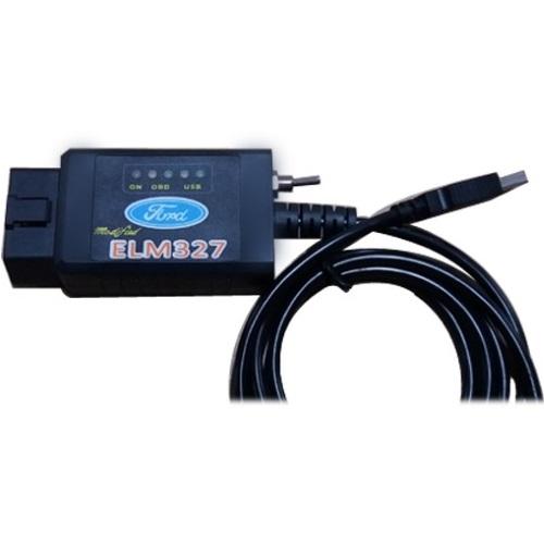 ELM327 USB для FORD на чипе FTDI с переключателем