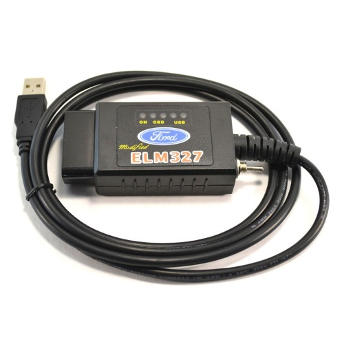 ELM327 USB для FORD на чипе FTDI с переключателем_2