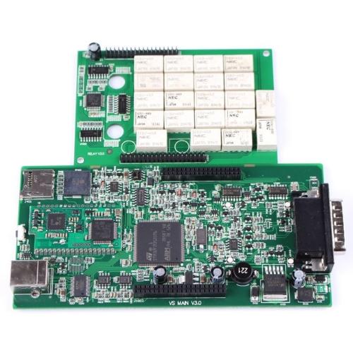 Delphi DS150E двухплатный Bluetooth все чипы